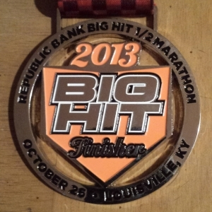 Big Hit Half Marathon 2013